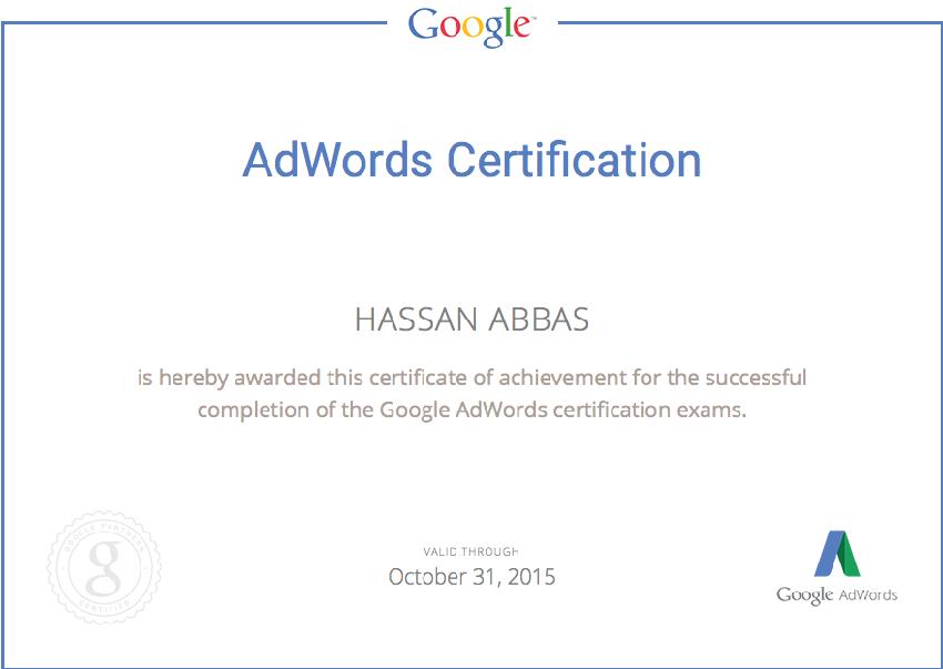adwords_Cert